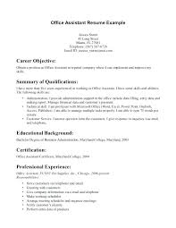 Medical Assistant Resume Objective Examples Enchanting Entry Level Medical Assistant Resume Summary Objectives For