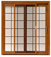 designer series aluminumclad wood sliding door with selfclosing screen door pellau0027s pella sliding doors a38