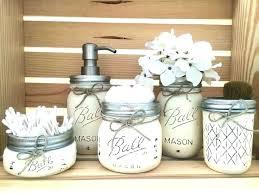 glass jars bathroom decorative glass apothecary jars pleasing bathroom glass jar bathroom accessories