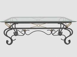 terrific black rectangle modern glasetal metal coffee tables stained design