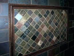 slate tile painting over home depot backsplash mosaic installing