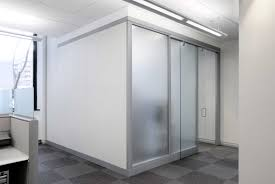 Glass Sliding Walls Amusing Frosted Glass Room Divider Come With Vertical Frosted