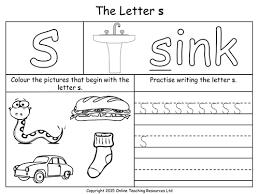 Worksheets, lesson plans, activities, etc. Image Result For S Worksheets Phonics Worksheets Letter S Worksheets Preschool Letters
