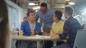 casual business team brainstorming ideas office meeting u2014 stock video office meeting ideas g3 office