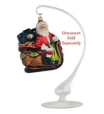 Christmas Ornament Display Stands Magnificent Glass Ornament Display Stand Milky Finish