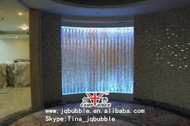 bubble wall fountain bubble water fountain clever acrylic bar cafe design small feature indoor diy bubble wall fountain