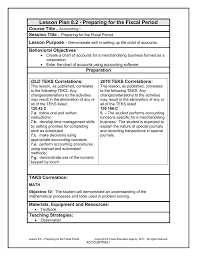 Lesson Plan 8 2 Preparing For The Fiscal Period Course Title