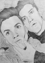 ethan dolan drawing dolan twins beauty graphite drawing follow my