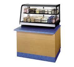 36 countertop self serve refrigerated display case merchandiser prima supply