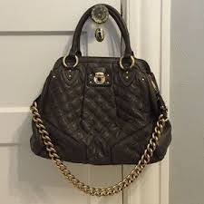71% off Marc by Marc Jacobs Accessories - Marc by Marc Jacobs ... & Onyx bead toggle bracelet Marc Jacobs quilted leather bag ... Adamdwight.com