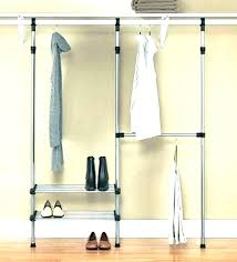 closet clothes rod tension adjule rods target pull down design ideas heavy duty hardware