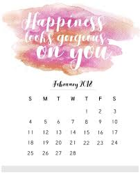 2018 monthly calendar with es motivational inspirational template january to december month desk wall with positive vibes good energy images saying