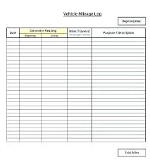 Mileage Tracker Template Mileage Tracker Excel Vehicle Mileage Log