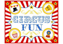 Circus Party Invitation Fascinating FREE Circus Birthday Party Printables From Printabelle Party