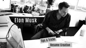 Elon Musk Resume Tips Tricks From Famous Elon Musk Resume YouTube 33