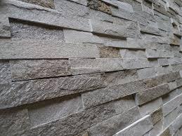 6 x 24 mountain white stacked stone tile