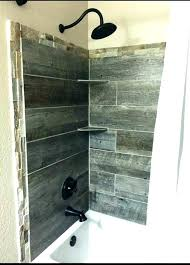 wood tile bathroom shower ceramic tile that looks like wood planks wood ceramic tile shower wood