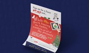 sport kes tesco card flyer posters pull up