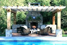 prefab outdoor stone fireplace kits plans backyard full size of free construction outside brick