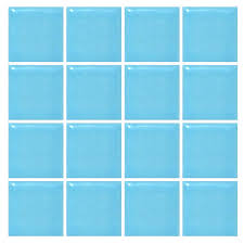 blue tiles.  Tiles M 30925 Mosaic Tile Deco Mural Bathroon Spas Gloss Blue Tiles Intended Tiles A