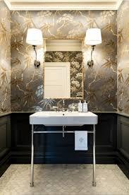 powder room bathroom lighting ideas. a very blah powder room transforms into jewel box small bathroom designssmall lighting ideas g