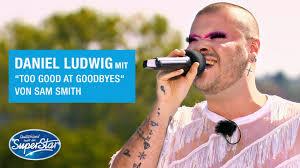 Weitere ideen zu dsds, star wars, superstar. Daniel Ludwig Mit Too Good At Goodbyes Von Sam Smith Dsds 2021 Youtube