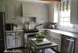 benjamin moore kitchen cabinet paintDear Lillie How We Painted Our Kitchen Cabinets Two Approaches