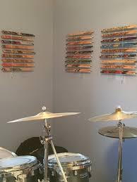 drumstick display drum stick holder by cardinalunlimitedllc