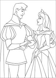 Small Picture The Prince Proposing Aurora Coloring Page Cute pages of