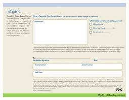 form direct deposit authorization quickbooks vendor wellsgo payroll pdf netspend 1024x791 in spanish for employee 840