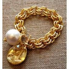 susan shaw initial bracelet best seller