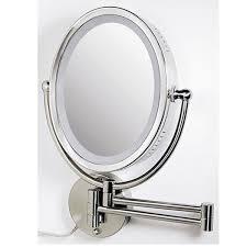 wall mounted makeup mirror. perfect finishing wall mount lighted makeup mirror nice ideas round shape modern mounted l