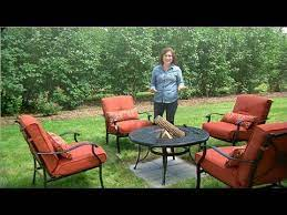 Learn Do Making A Base For Your Fire Pit Martha Stewart Youtube