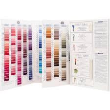Dmc Floss Color Chart W100b 39 99 Usd Charting