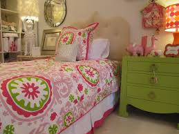 Green And Pink Girls Room Decobizzcom
