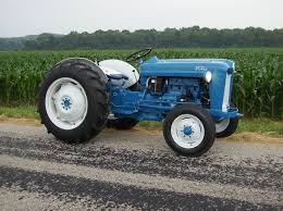 ford blue tractor paint code 5
