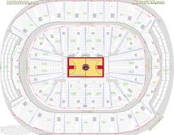 Air Canada Centre Seating Chart Hockey Toronto Air Canada Centre Nba Toronto Raptors Basketball