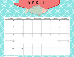 Blank April 2018 Word Calendar Free Printable Calendar 2018