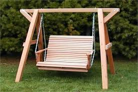 stand alone swing porch plans yoga diy chair with for baby indoors