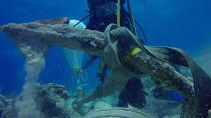 Experts discover 'Christopher Columbus' anchor at Caribbean ...