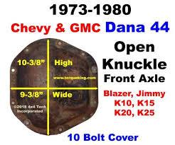 Dana 44 Front Axle Shaft Length Chart Chevy Dana 44 Front Axle Buy 1973 To 1981 Gm Danna 44