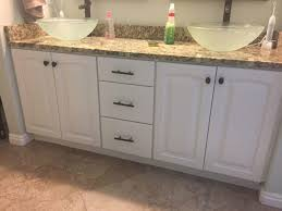 bathrooms cabinets painting bathroom with canada grey painted vanity diy cabinet stained 970 728