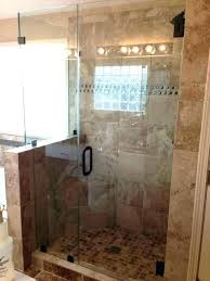 glass shower half wall pony best ideas on with height google search bathroom show panels nz