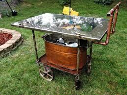 full size of bar cart outdoor metal serving table outdoor patio bar outdoor patio serving carts