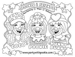 It Clown Coloring Pages At Getdrawingscom Free For Personal Use