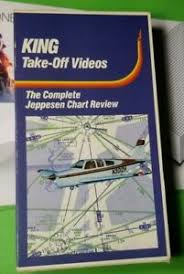 Jeppesen Chart Training Details About King Take Off Videos The Complete Jeppesen Chart Review Vhs Flight Training