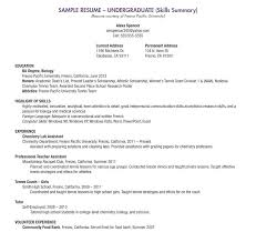 Example Of Student Resume Best Resume Example For High School Student With No Experience Sample
