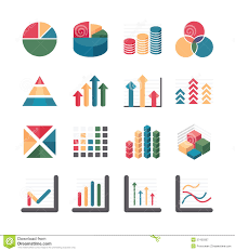 Vector Graphs And Charts 17 Business Icon Vector Graph Images Icon Business Graph