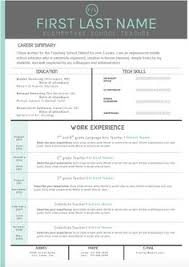 ... Absolutely Smart How To Make A Resume Stand Out 13 My Design For An  Elementary Teacher ...