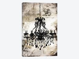 one other image of chandelier canvas wall artwork